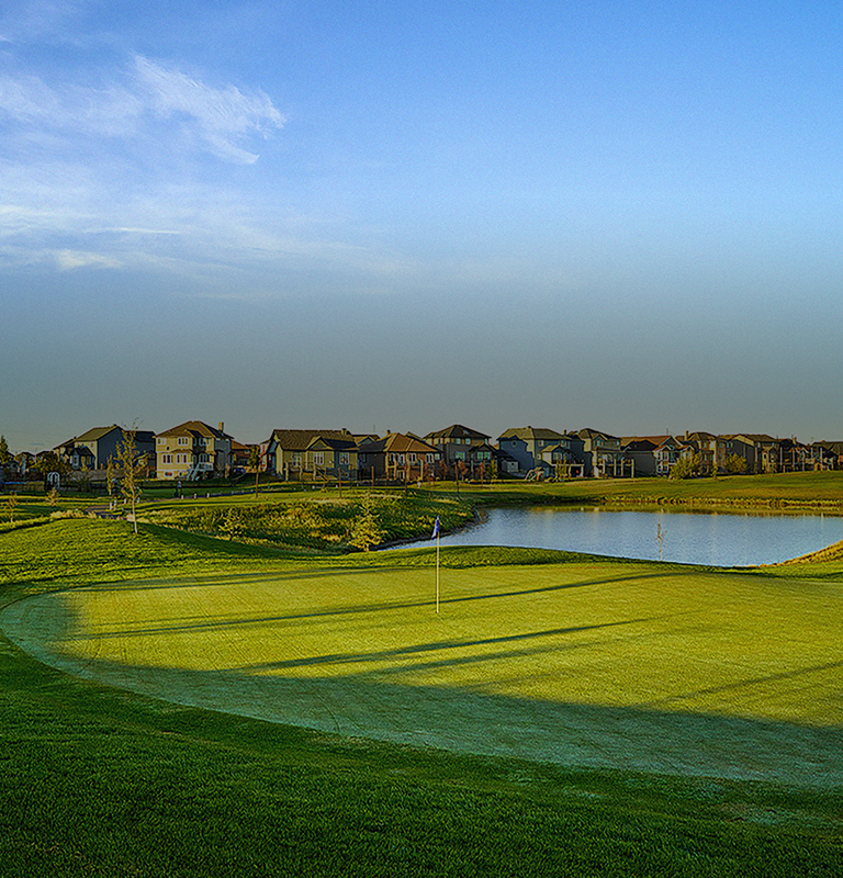 Live in the beautiful Golf Course Community